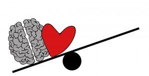 En rigtig beslutning kræver samarbejde mellem hjerne og hjerte