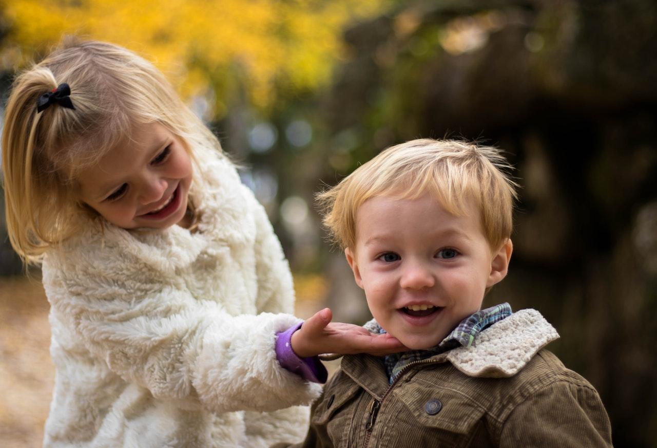 To børn har fået samværsordning der får dem til at trives